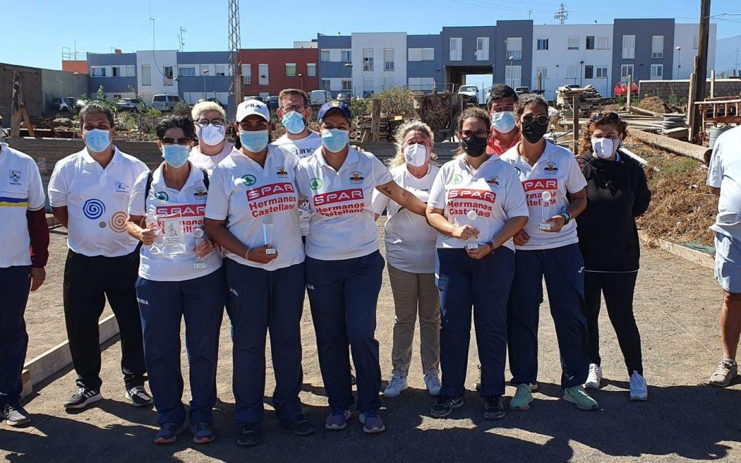 EL C.D. C.D.P. El Puertillo, Campeón de la Liga Autonómica de Bola Canaria Femenina.